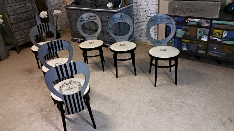 ambiance bistrot fa on industrie. Black Bedroom Furniture Sets. Home Design Ideas
