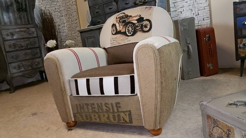 fauteuil club passion car. Black Bedroom Furniture Sets. Home Design Ideas