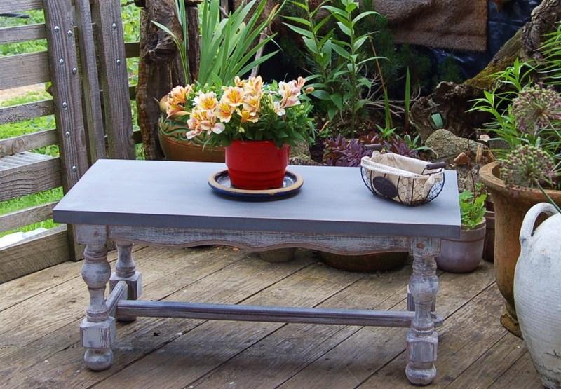 relooker table basse avec carrelage - inspiration du blog