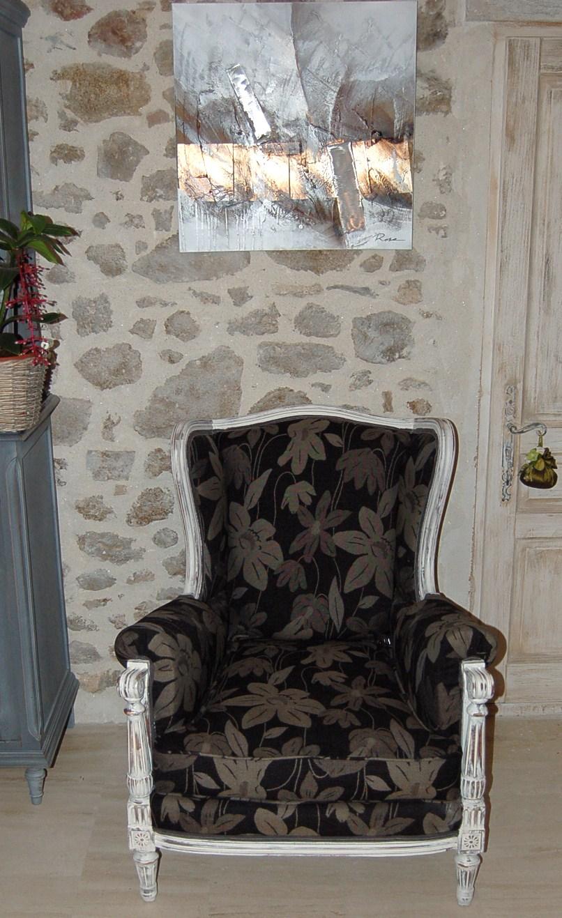 fauteuil berg re louis xvi relook. Black Bedroom Furniture Sets. Home Design Ideas